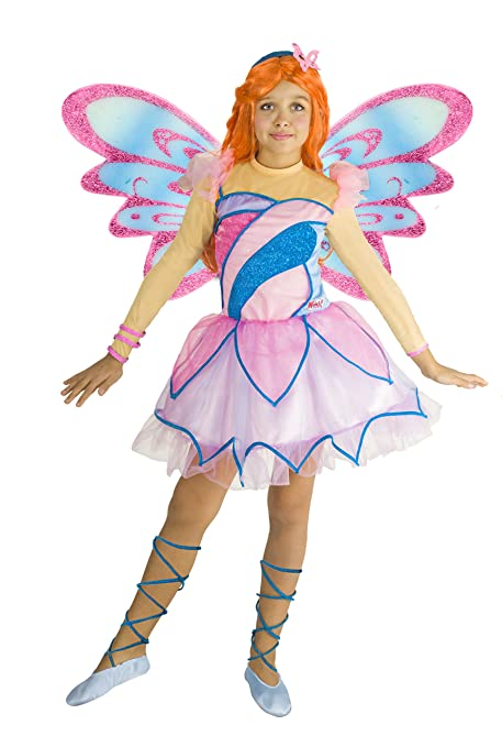 89d9894a61 Ciao 11197 - Bloom Butterflix Costume Winx 7-9 anni: Amazon.it ...