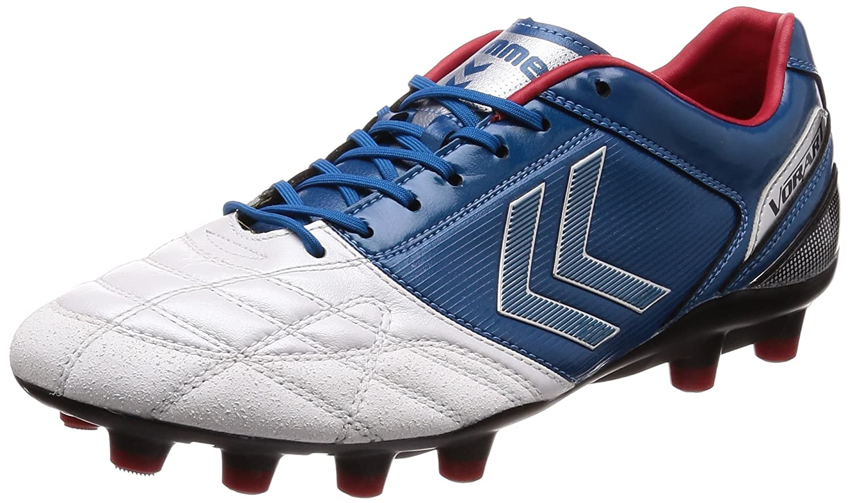 [ヒュンメル] サッカースパイク ヴォラートKS メンズ B01EWRVCPS 27.0 cm ホワイト×バルティックブルー