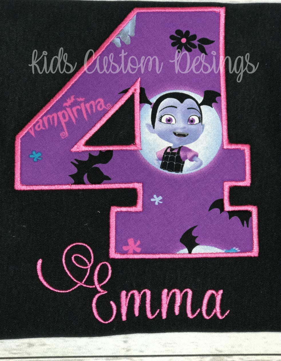 Vampirina Birthday Vampirina Birthday Shirt Custom Vampirina Shirt