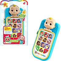 CoComelon JJ's First Learning Toy Phone for Kids with Lights, Sounds, Music to Introduce Feelings, Letters, Numbers…