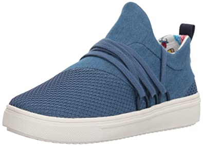 32a077f4845 Steve Madden Women s JLANCER Sneaker Denim 1 M US