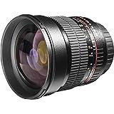 Walimex Pro 85 mm 1:1.4 DSLR-Objektiv (Filterdurchmesser 72 mm, mit abnehmbarer Gegenlichtblende, für Canon EF Objektivbajonett) schwarz