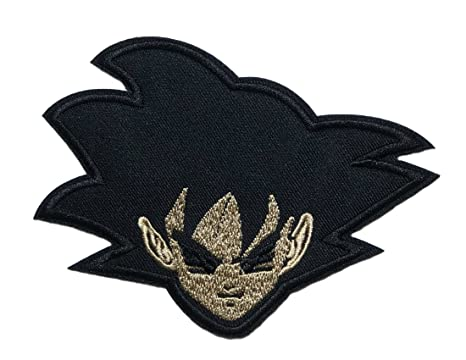 Applicazione classico anime dragon ball super goku nero cosplay