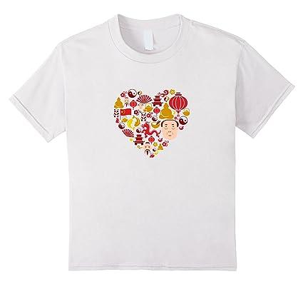I Love China Cute Chinese Culture Pride Fashion, Mandarin, Kinder ...
