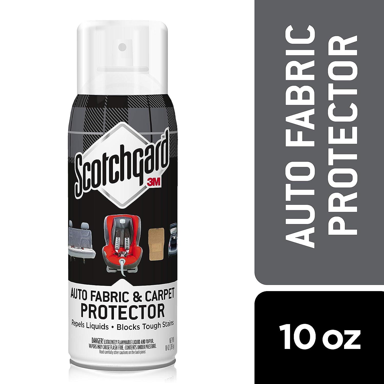 Scotchgard Auto Fabric & Carpet Protector, 10 Oz.
