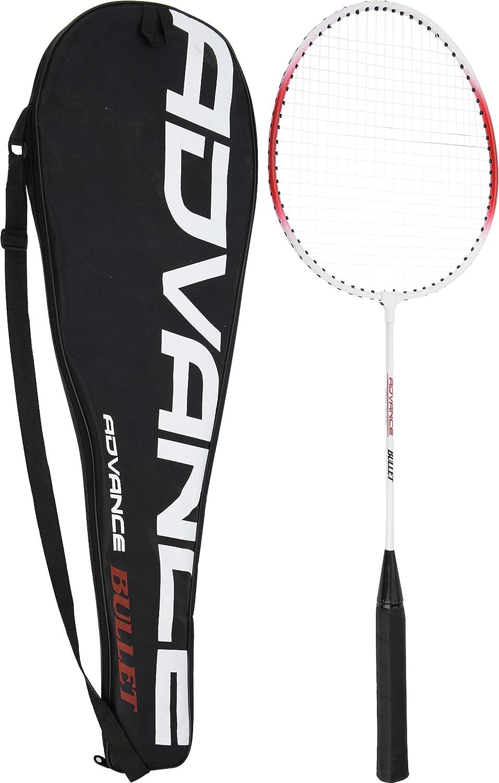 Badminton Freizeitset mit 2 Schlägern, 1 Ball und Tasche, Federballset Bahia Vista