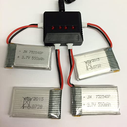 3.7v 350mah lipo battery usb charger cable for x5 x5c rc drone MAA!RE