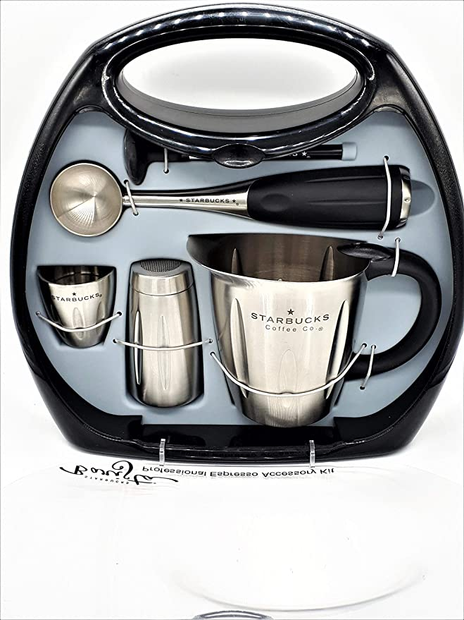 Amazon.com: Starbucks Barista Espresso profesional kit de ...