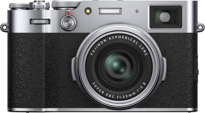 Amazon.com : Fujifilm X100V Digital Camera - Silver : Camera & Photo