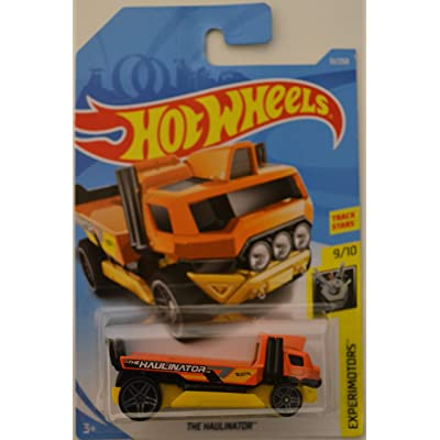 The Haulinator Yellow-Orange Hot Wheels HW Screen Time Series 1:64 Scale Collectible Die Cast Model Car: Toys & Games