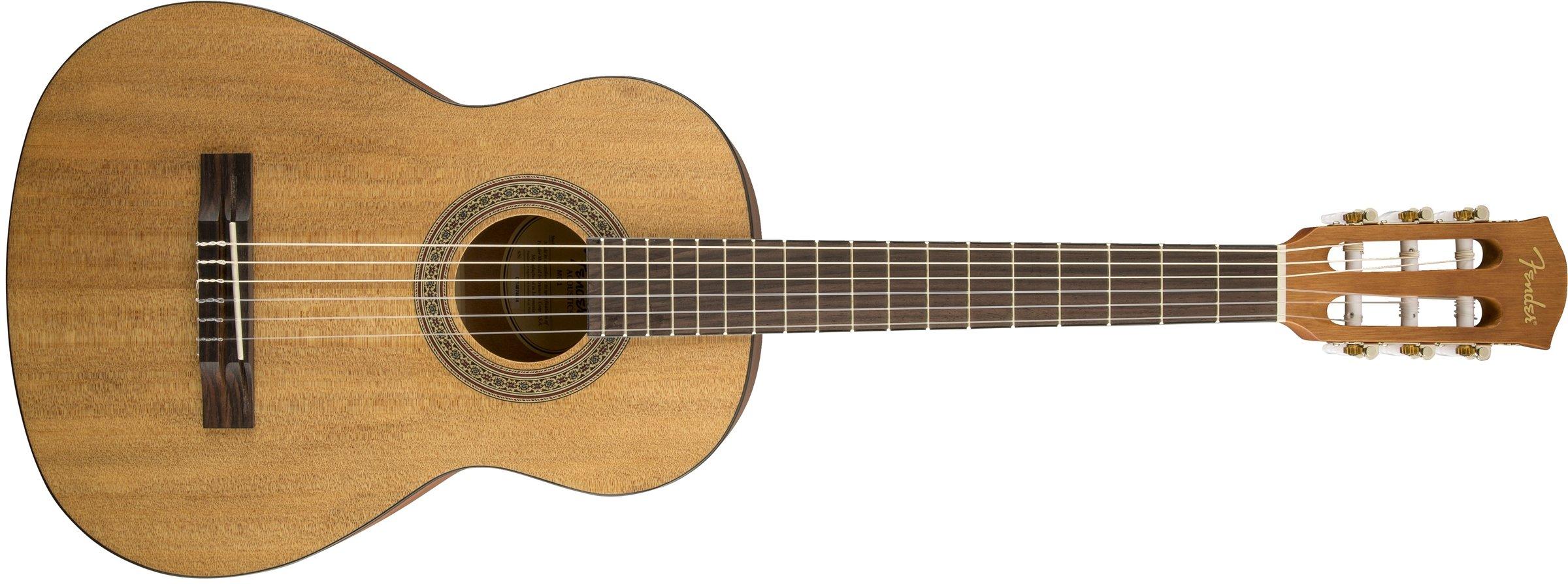 Fender Beginner Acoustic Guitar MC-1 ¾ Nylon String – Natural by Fender