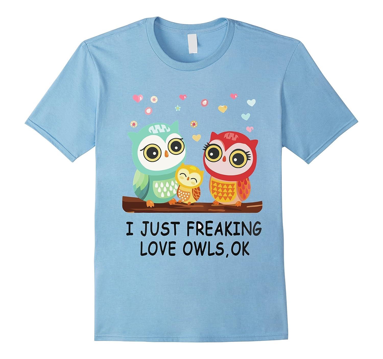 Lovely Owl T Shirt for men and women-TH