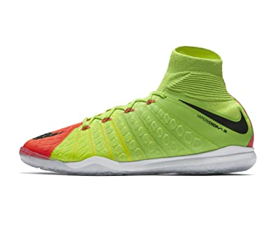 online store fd9a5 b8ff7 Nike Mens Hypervenomx Proximo II Dynamic Fit Indoor Shoes  Electric Green   (6.5)