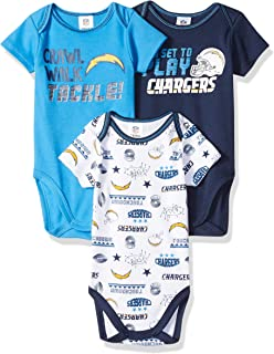 bodysuit Chargers fan customized personalized NAME NUMBER san diego baby