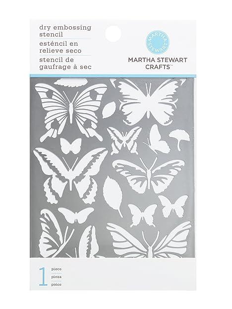 Martha Stewart Crafts Schmetterling Prägung Schablonen: Amazon.de ...