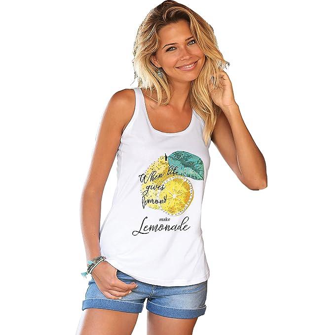 VENCA Camiseta de Tirantes Mujer by Vencastyle - 009845: Amazon.es: Ropa y accesorios