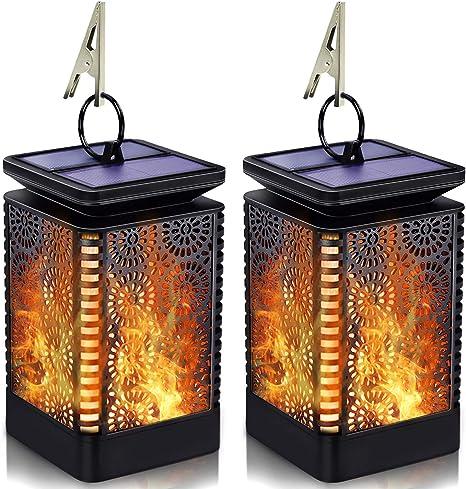 Solar-Powered Lantern Lights