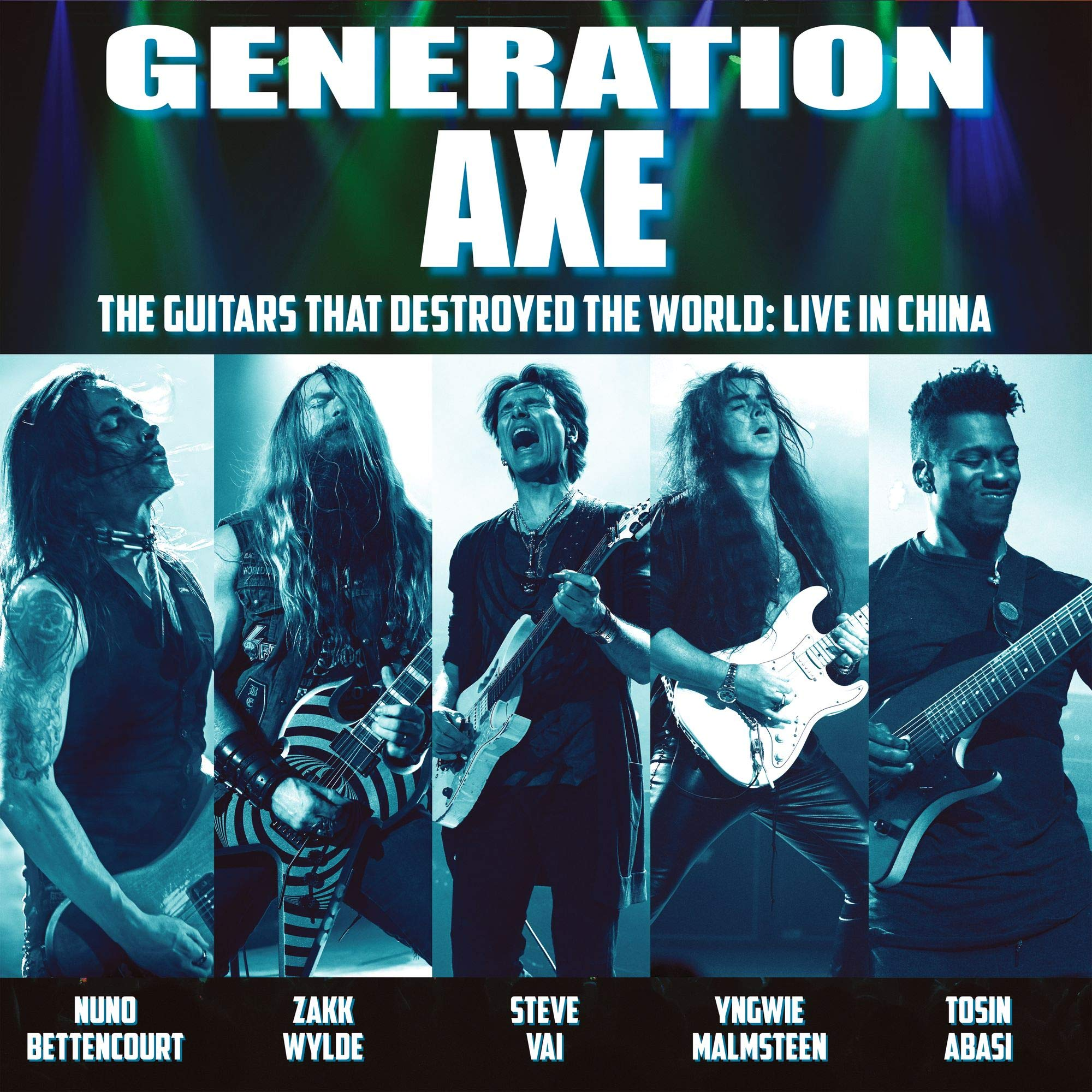 Generation Axe: Guitars That Destroyed That World by EARMUSIC