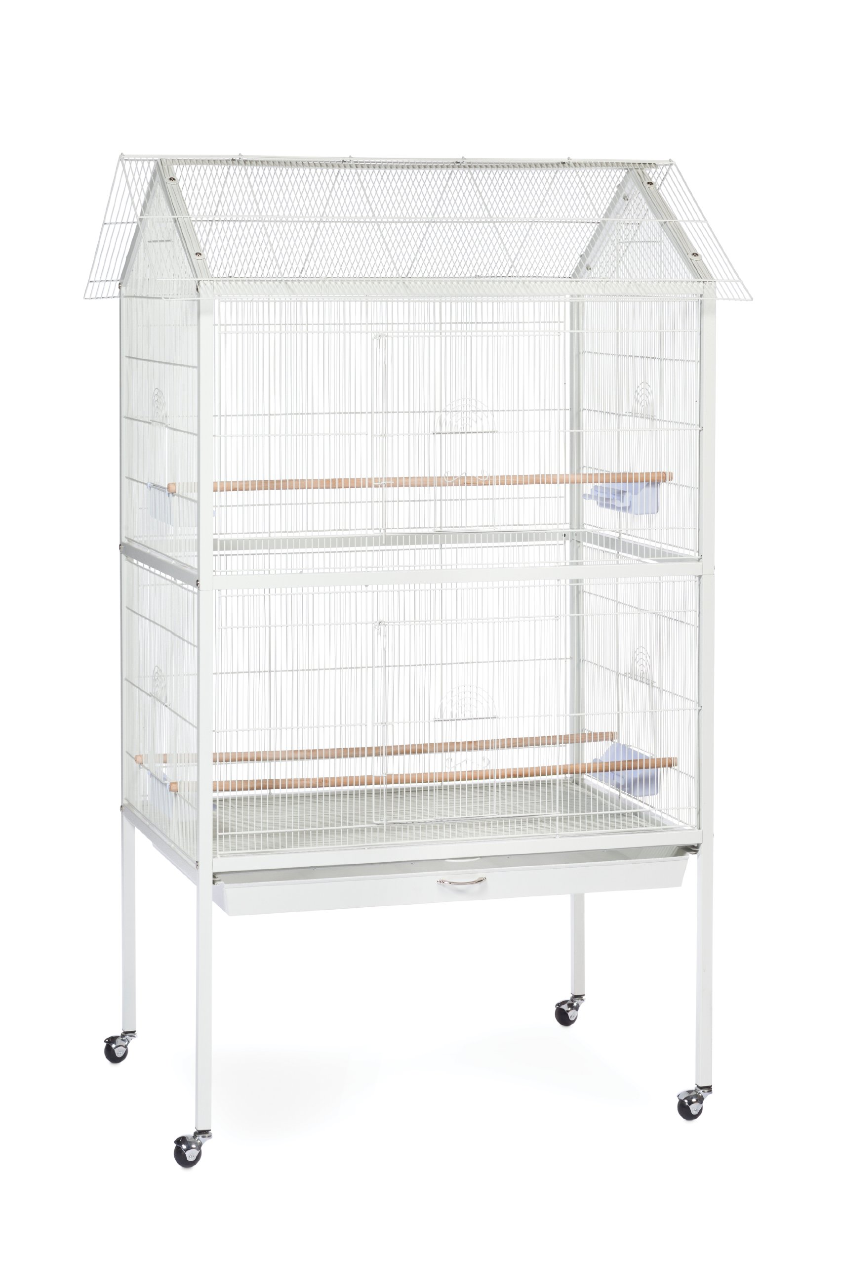 Prevue Pet Products F030 Aviary Flight Cage, White by Prevue Hendryx