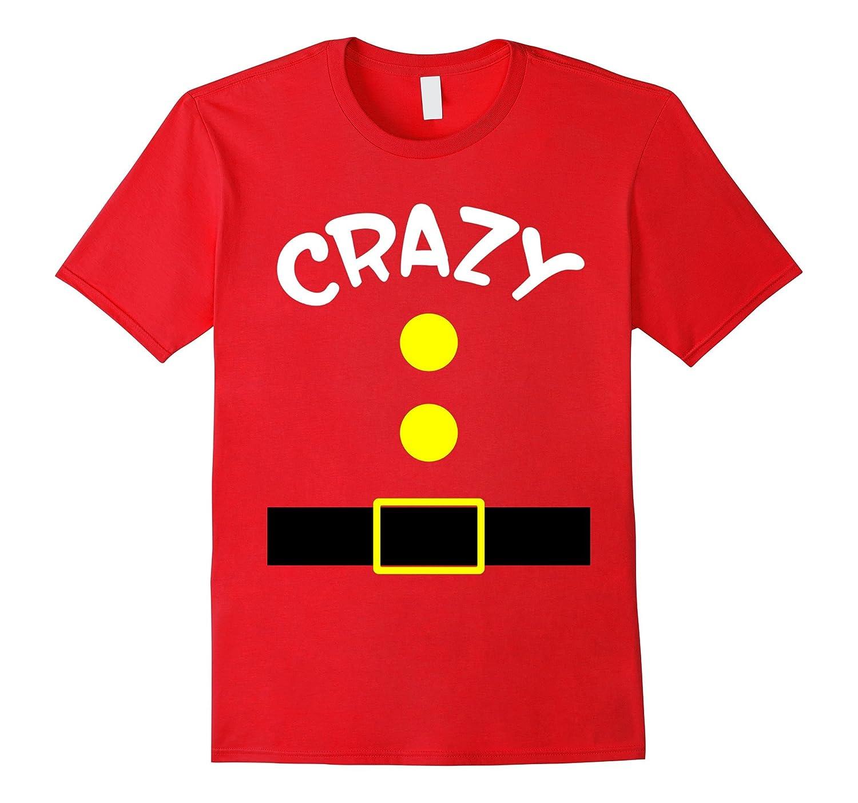Crazy Dwarf Costume Funny T-Shirt-FL