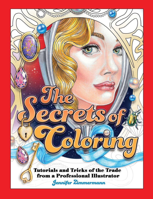 Secrets Coloring Tutorials Professional Illustrator product image