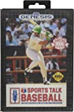 Sports Talk Baseball - Sega Genesis