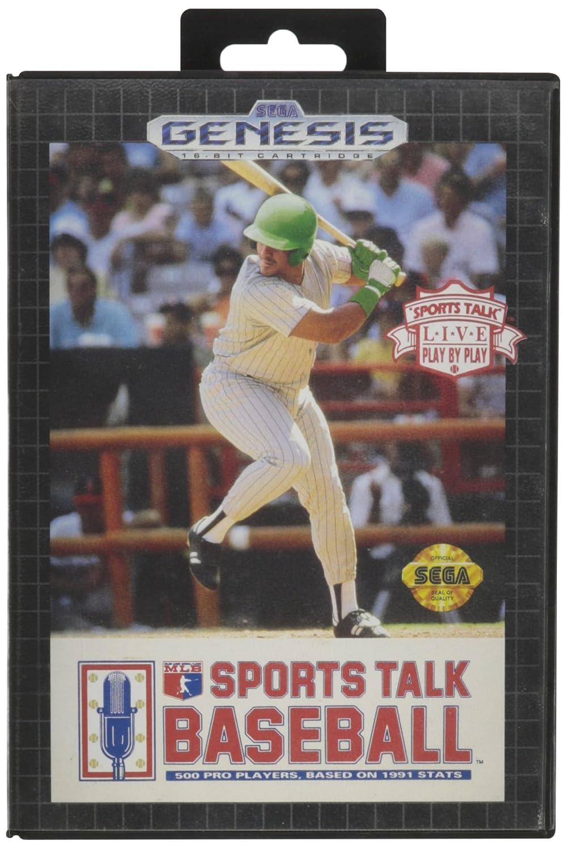 Sports Talk Baseball - Sega Genesis