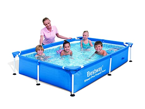 Bestway Splash Jr. Frame - Piscina tubular, 221 x 150 x 43 cm
