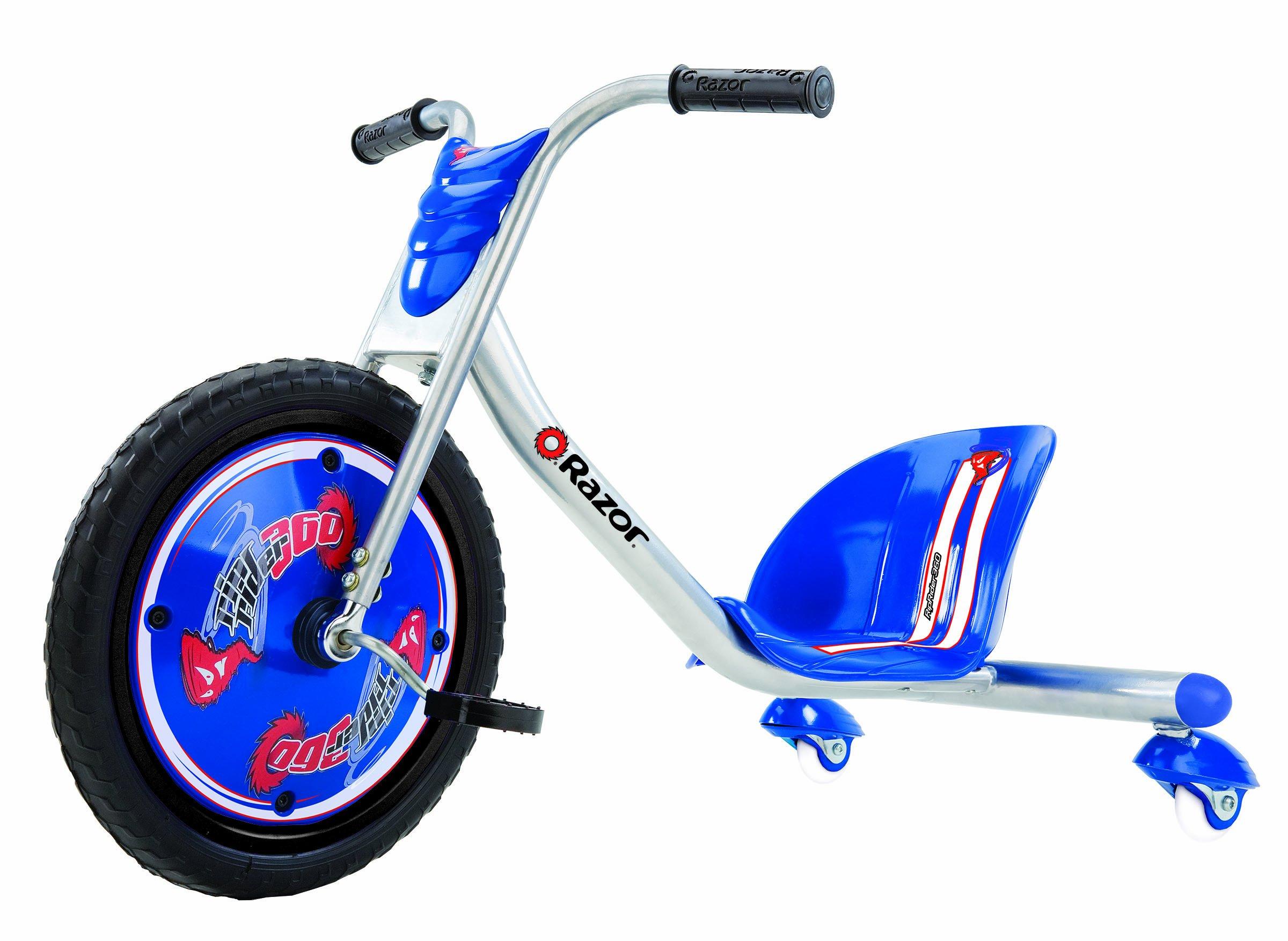 Razor RipRider 360 Caster Trike, Blue by Razor