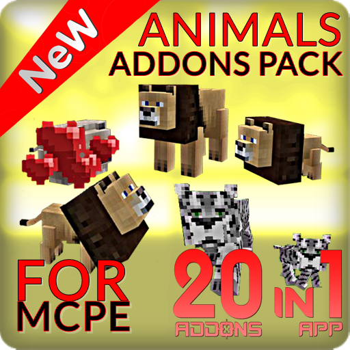 Animals Addons Pack for PE