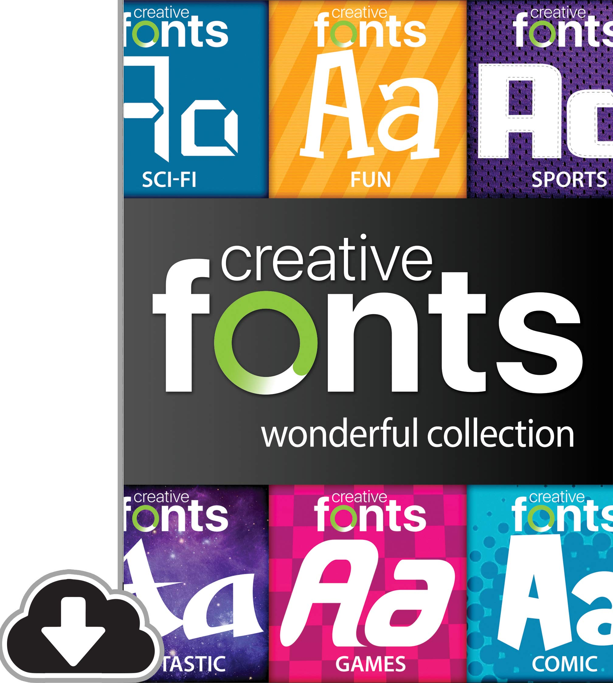Creative Fonts Wonderful Collection [PC Download] by Summitsoft