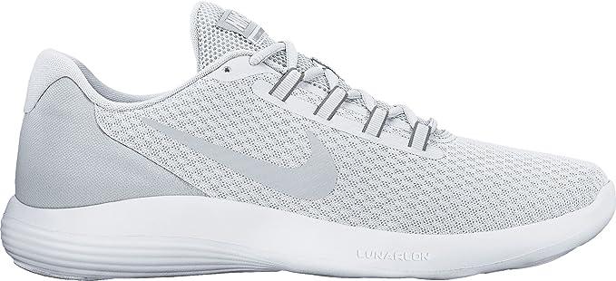 new concept 0a6f4 2c133 Nike Lunarconverge Zapatillas de Running, Hombre, Blanco (White Pure  Platinum Wolf