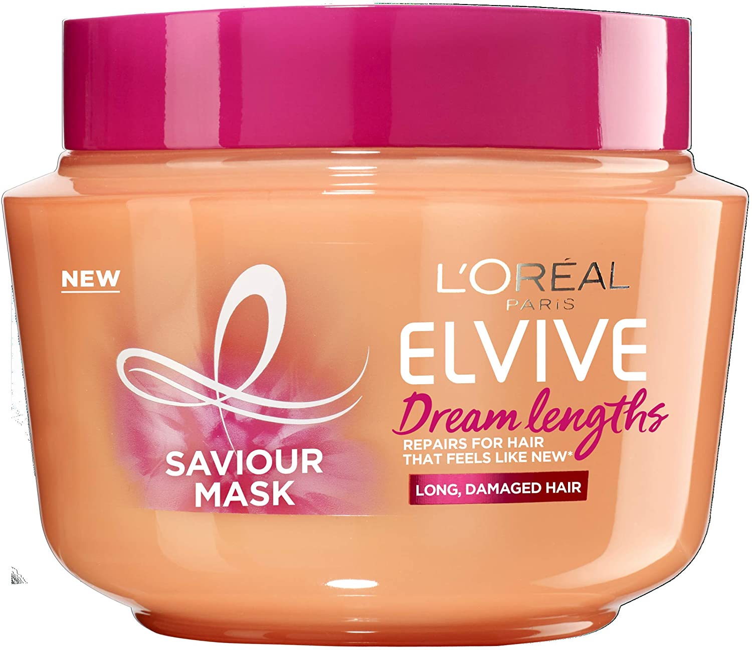 L Oreal Elvive Dream Lengths Long Hair Mask For Long Damaged Hair 300ml Amazon Co Uk Beauty