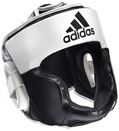 3023c8bed7dfe Amazon.com : adidas Response Boxing Head Guard Black (X-Small ...