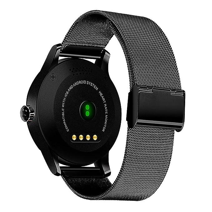 Amazon.com: YIMOHWANG K88H Smart Watch Round Screen Support ...