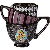 Silver Buffalo AW8295B Disney's Alice in Wonderland Sculpted Mug, Multicolor