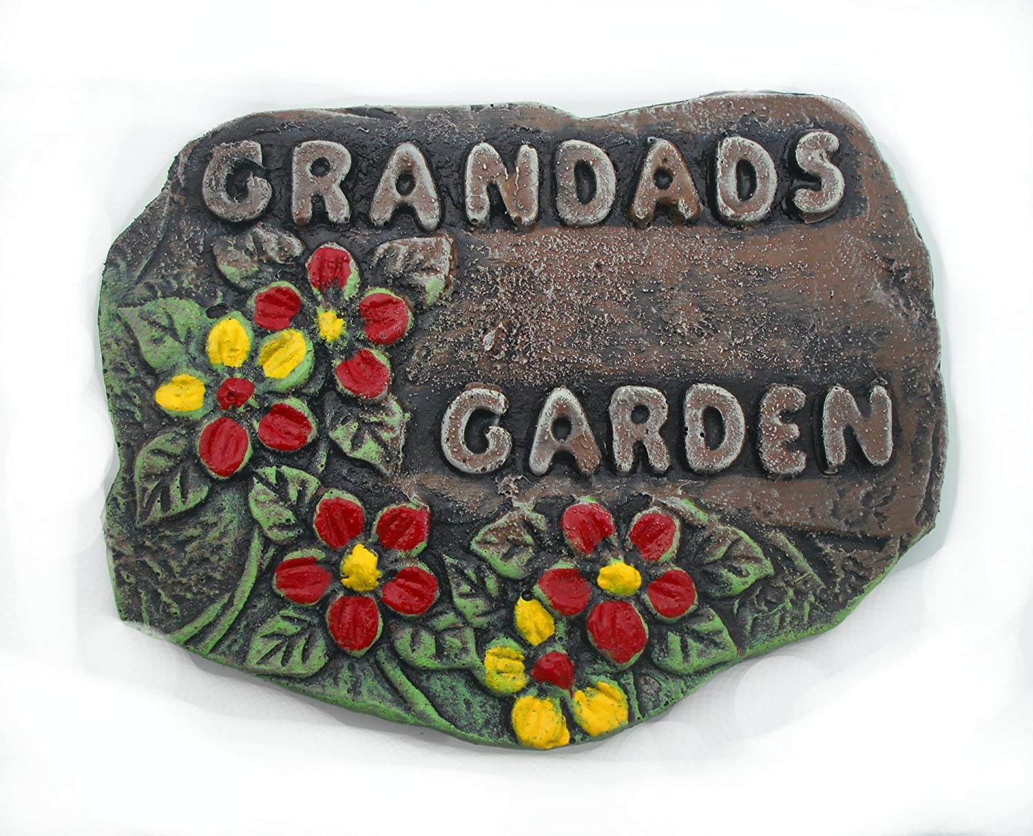 ClassCast Grandad's Garden Resin plaque. Garden ornament sign. Shed sign