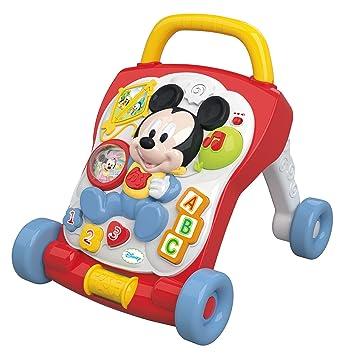 Clementoni 62270.2 Disney - Andador con Actividades, diseño Mickey