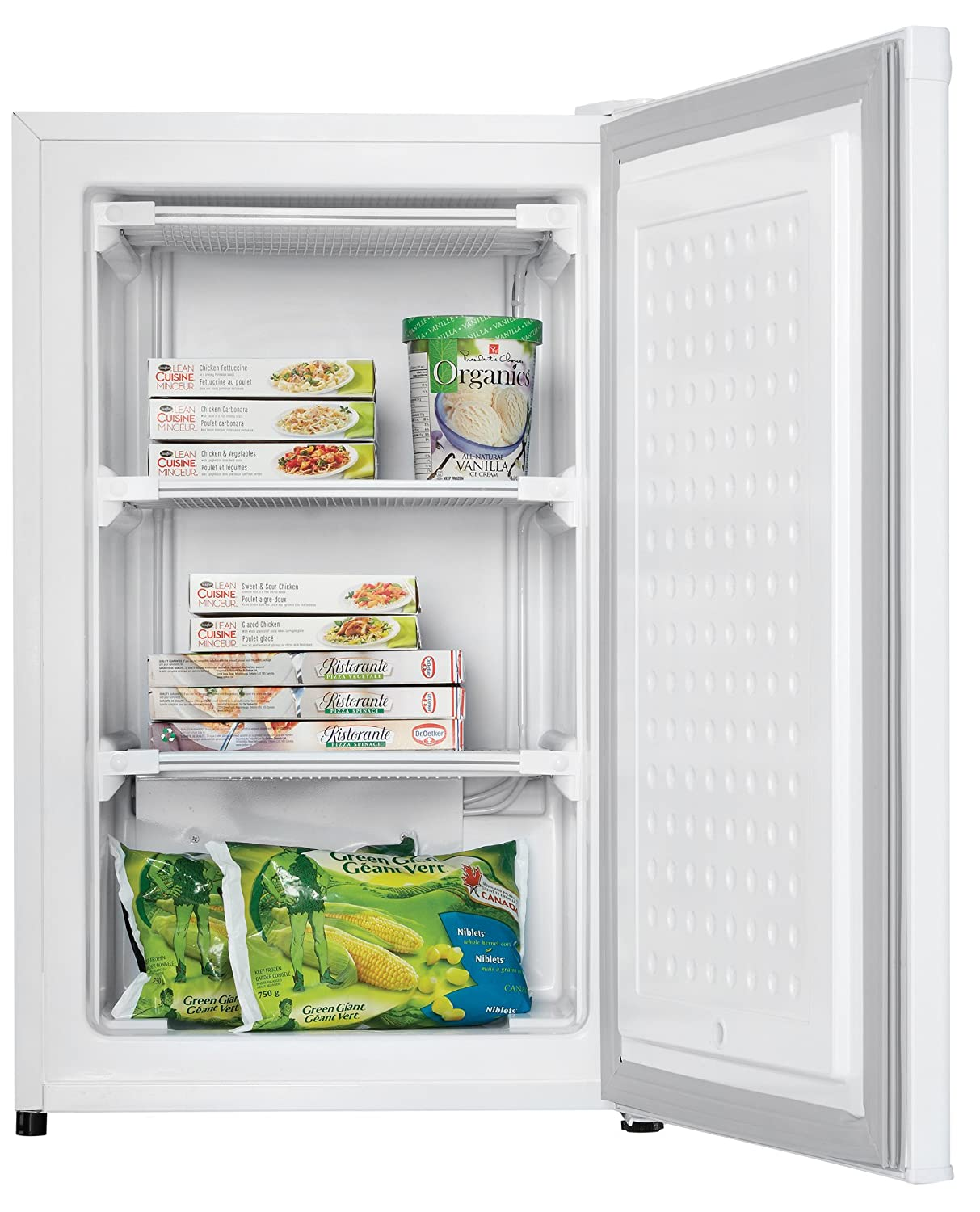 amazoncom danby 32 cubic feet upright freezer white appliances