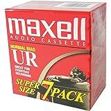 MAXELL 108575ノーマルバイアスオーディオテープ90分7-PK 108575
