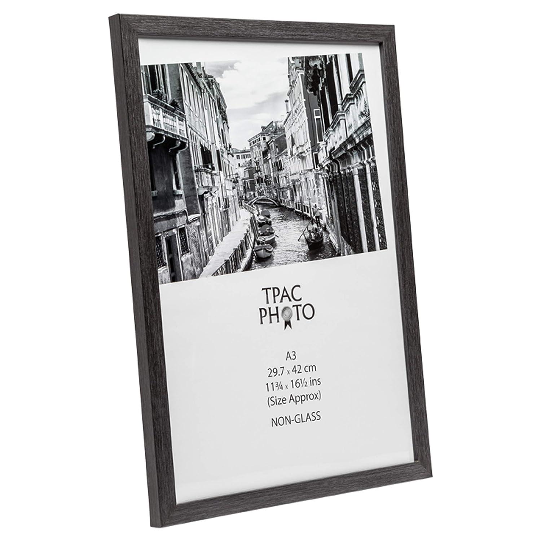 tama/ño A3, 30 x 42 cm, Madera y plexigl/ás INSPIRE For Business WESA3GRY Marco de Fotos para Pared dise/ño de Ciudad de Westminster Color Gris