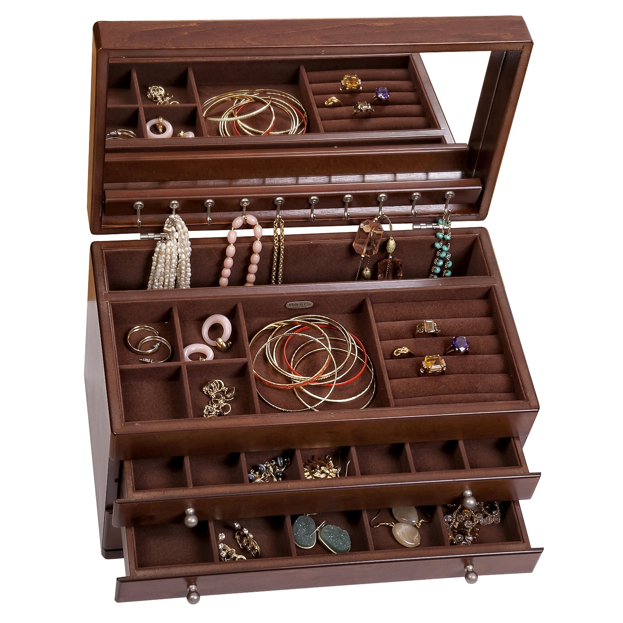 Mele & Co Brigitte Wooden Jewelry Box by Mele & Co. (Image #5)