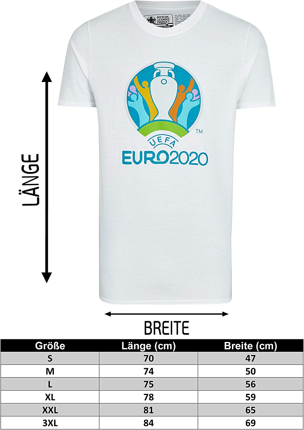 UEFA EURO 2020/™ T-Shirt Competition wei/ß