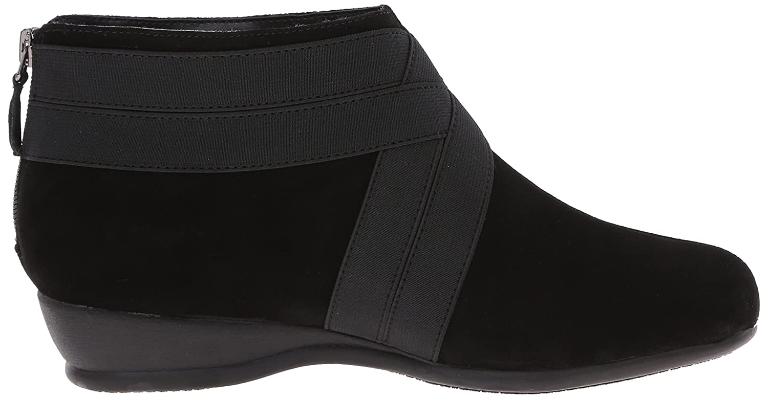 Trotters Women's Latch Boot B00RZSO5E2 11 B(M) US|Black Suede