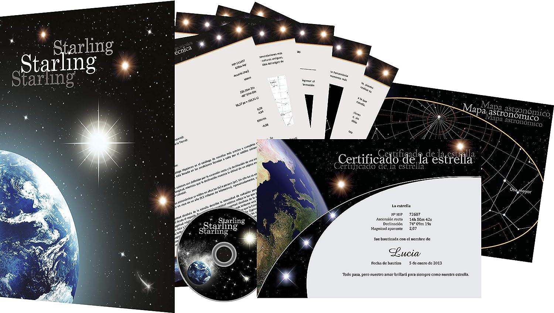 Starling© Registro de Estrellas - Comprar una Estrella - Regalar una Estrella (Zodiac)