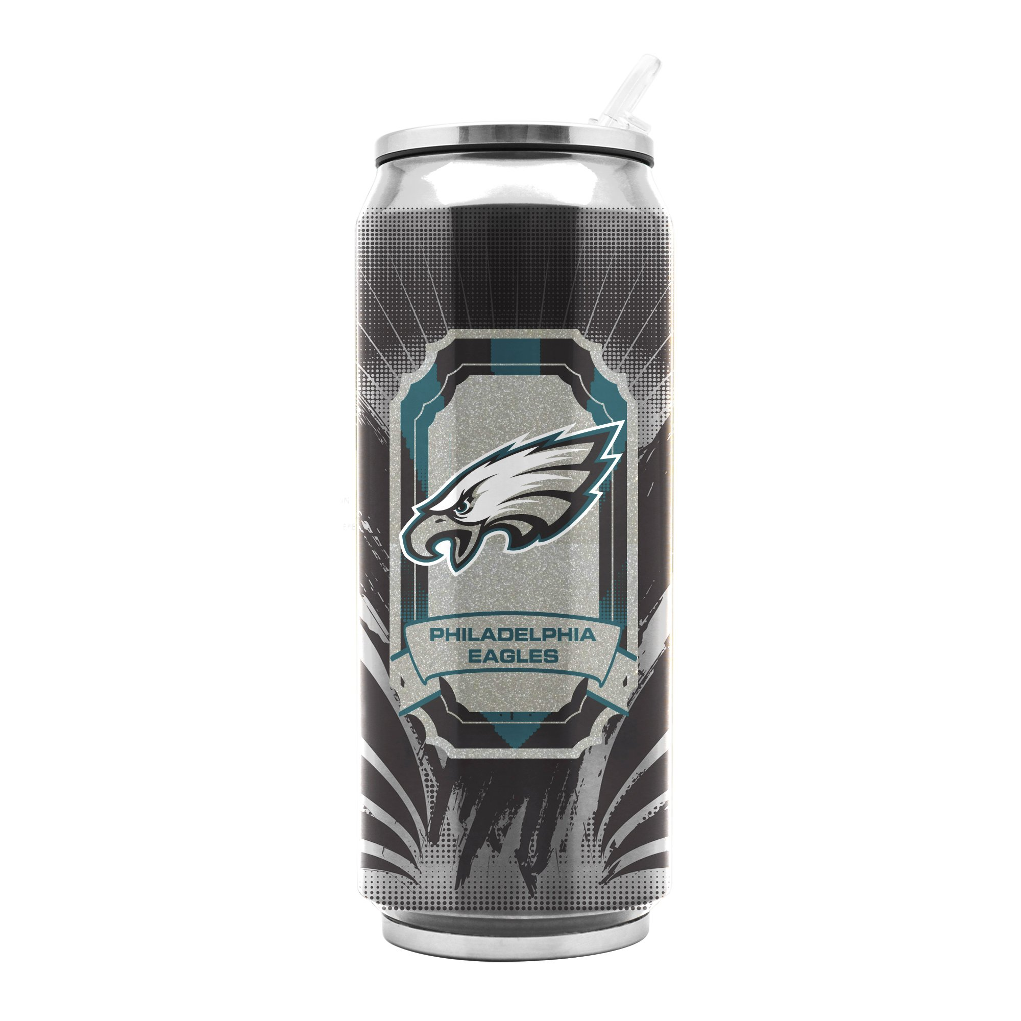 NFL Philadelphia Eagles 11oz Double Wall Stainless Steel Thermocan by Duck House