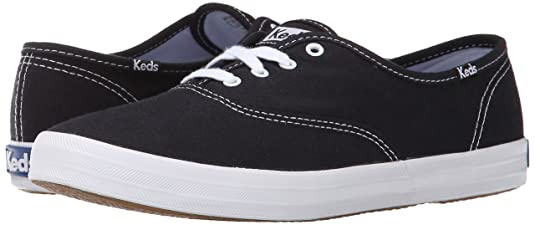 Champion Core Text, Womens Low-Top Sneakers, Black (black), 9.5 UK Keds