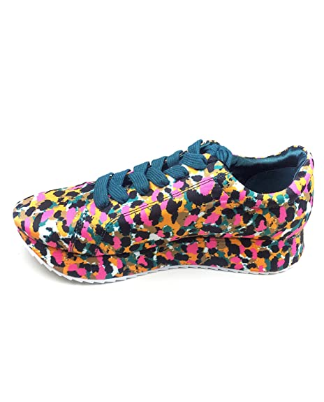 e40e8ba8e18 Zara Women Printed satin sneakers 5630/201 (35 EU   5 US   2 UK ...