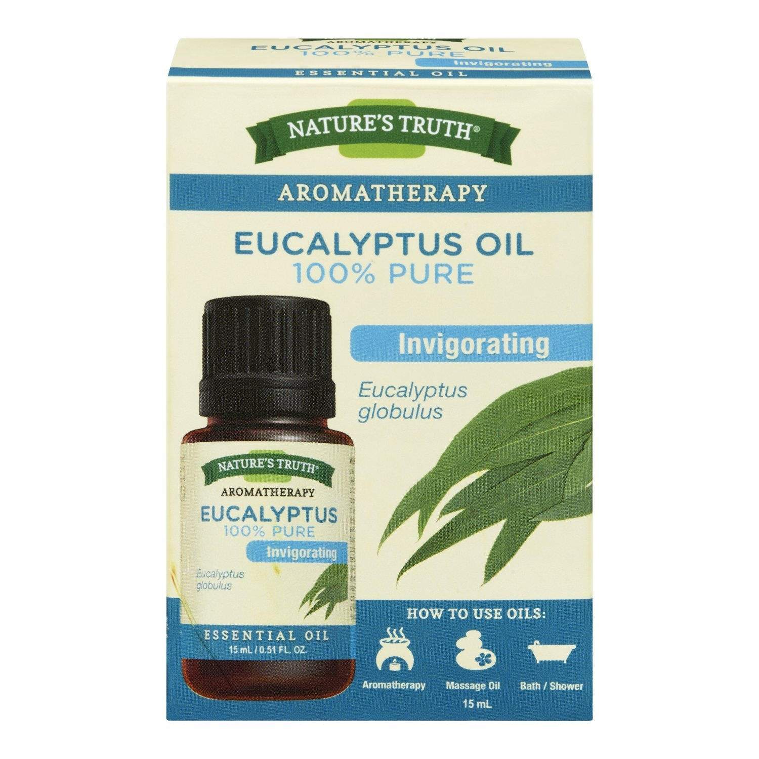 Nature's Truth Essential Oil -Eucalyptus Oil 1 Count Nature' s Truth