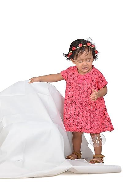 0b3f986e0 KidsDew Cotton Kids Girls Baby Girls Frocks Dress  Amazon.in ...